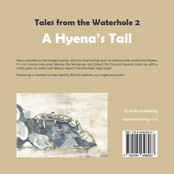 back cover of The Hyena's Tale Book