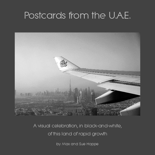 Postcards from the UAE book cover