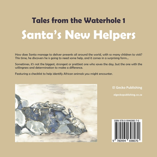 Santa's New Helpers Back Cover