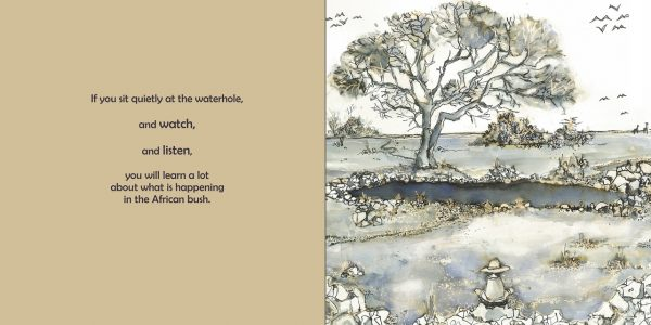 page from at the waterhole