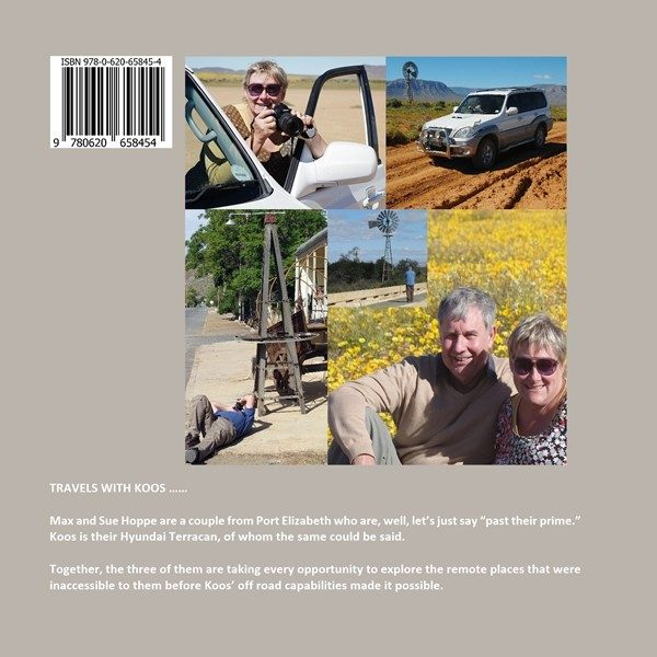 South African travel book